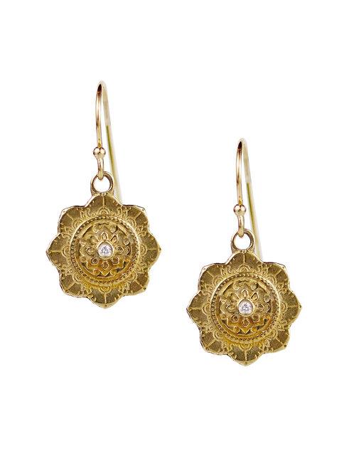 Chakra Earrings, Spiritual Alignment by Lulu Designs