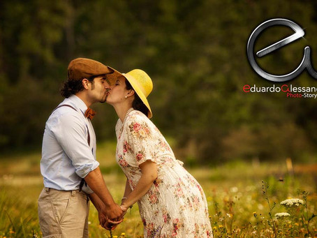 A Shabby chic Style Engagement session