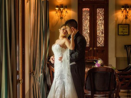 La Casa de los Abanicos la boda de Mariana y Javier