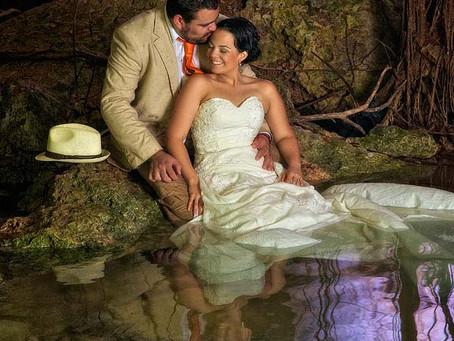 Fotografo de Bodas en Cancun la Boda de Lore y Marco Trash the Dress