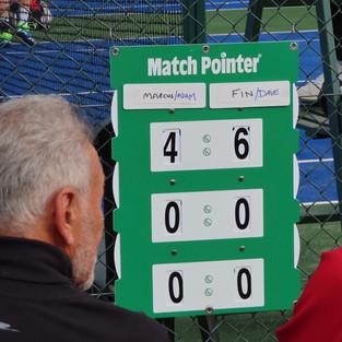 doubles score