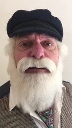Denny as Uncle Albert with a message to stay safe during the Corona Virus pandemic