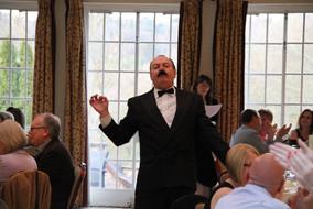 Denny as Basil Fawlty