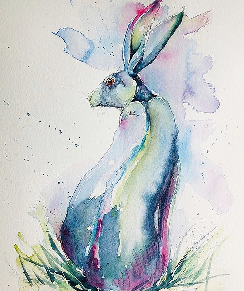 Hare Looking Back