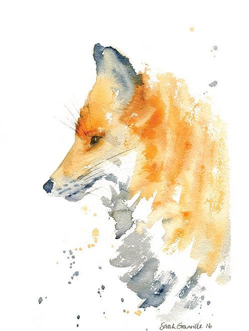 Side Facing Fox