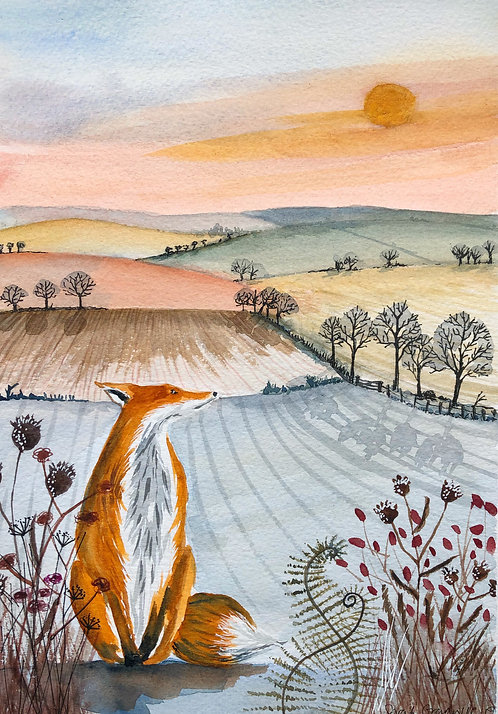 Fox Landscape