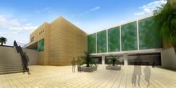 אוניברסיטה בנגב - רחבה מרכזית