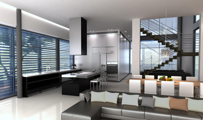 בית משפ' קצרנשטיין - מבט למטבח