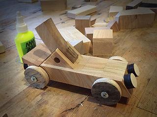 детская столярка, детская мастерская, столярка, дети, механические деревянные шестеренки