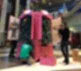 розовый шкаф, ctclove, телеканал стс, ёлка в шкафу, розовая ёлка, новогодний арт-объект, арт-объект из дерева, pink wardrobe, woodworking art