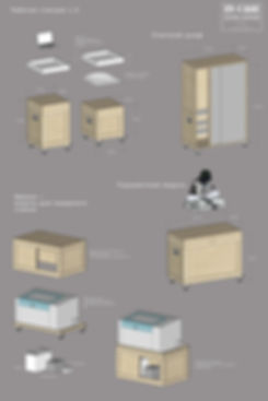 incase, мебель incase, система хранения, мебель для мастерской, мебель из фанеры, flight case, флайт кейс, кофр из фанеры, мобильная мебель, механические деревянные шестерёнки, woodgears