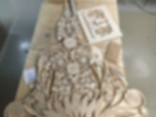 будда, чпу, фанера, арт-объект