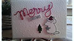 Festive Mice Merry X-Mas