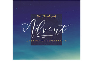 Join us Sunday for Advent!