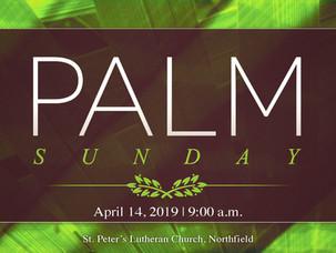Worship with Us Palm Sunday
