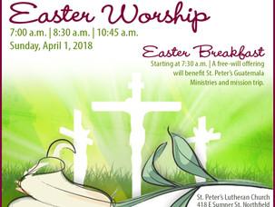 Holy Week & Easter Sunday