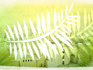 Worshipping separately, together this Palm Sunday