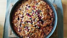 Beeren-Kuchen mit Mascarpone...
