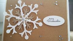 Snowflake Weihnachtskarte