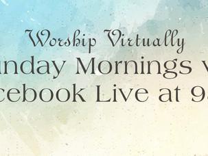 Worship Sunday 8/2