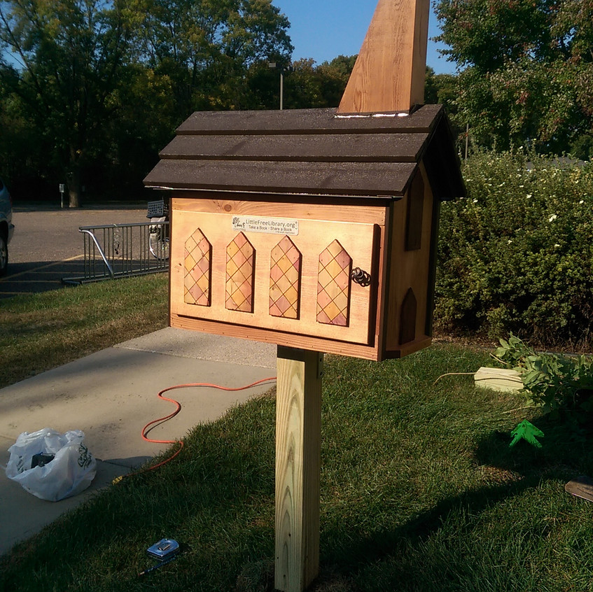 Little Library installed