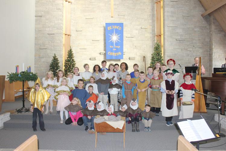 12-14-18 Sunday School Christmas Program
