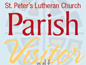 Parish Visitor Posted!