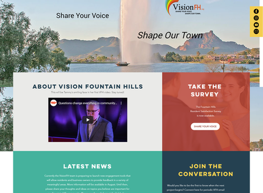 New VisionFH Website. What do you Think?
