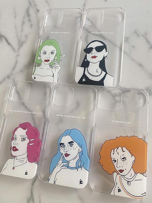 Original iphone case(character)