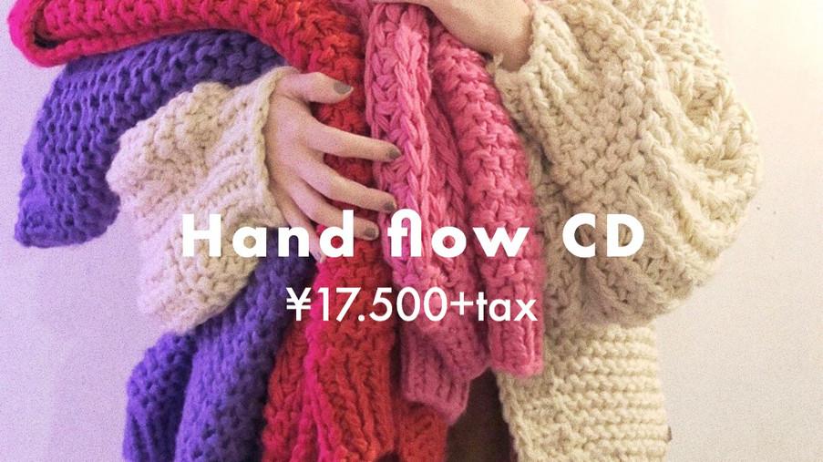 "【""HAND MADE KNIT"" item】カラー別コーディネートtip🌈"