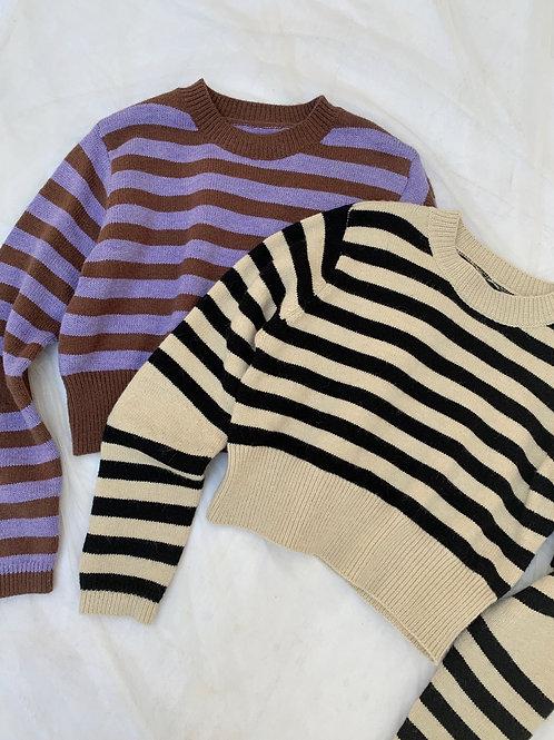 Point border knit