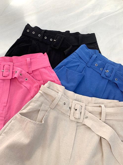 Vivid wide pants