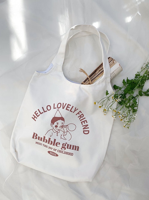 Lovely friend tote