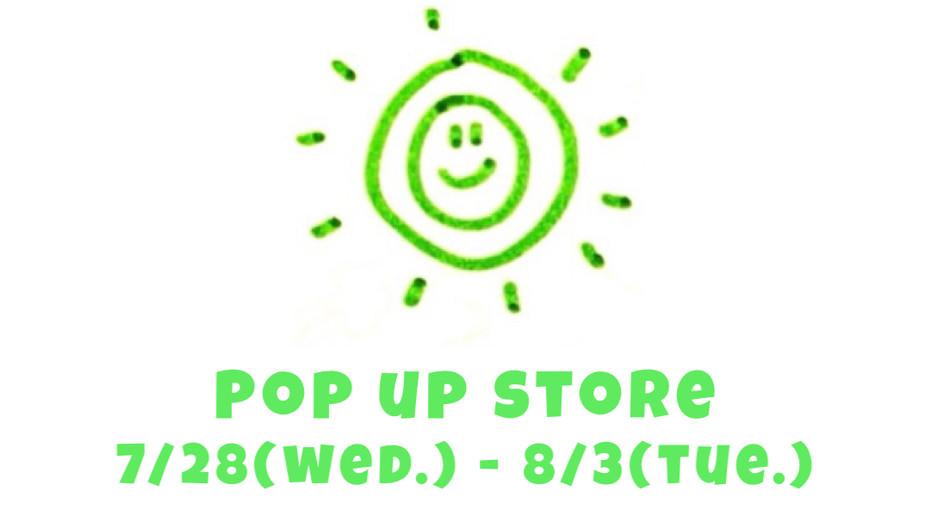 POP UP STORE in OSAKA🌟🌈💞🎉 @阪急うめだ本店3F