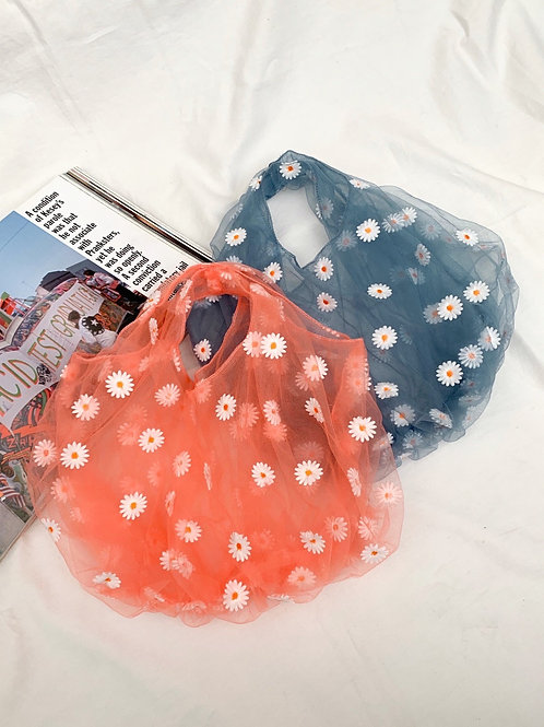 <再入荷予約>Flower net bag