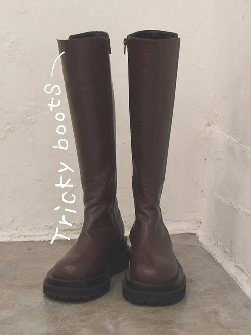 Tricky boots