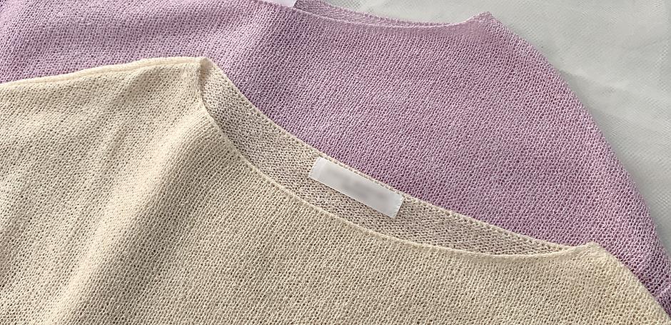 <再入荷予約>Towel touch knit