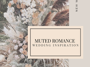 Wedding Inspiration - Muted Romance