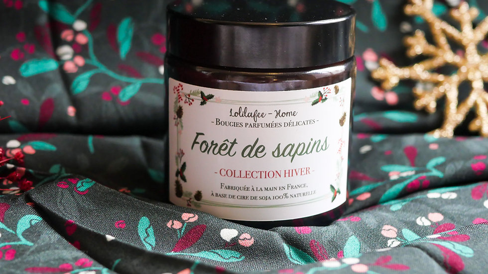 Petite bougie - collection Hiver
