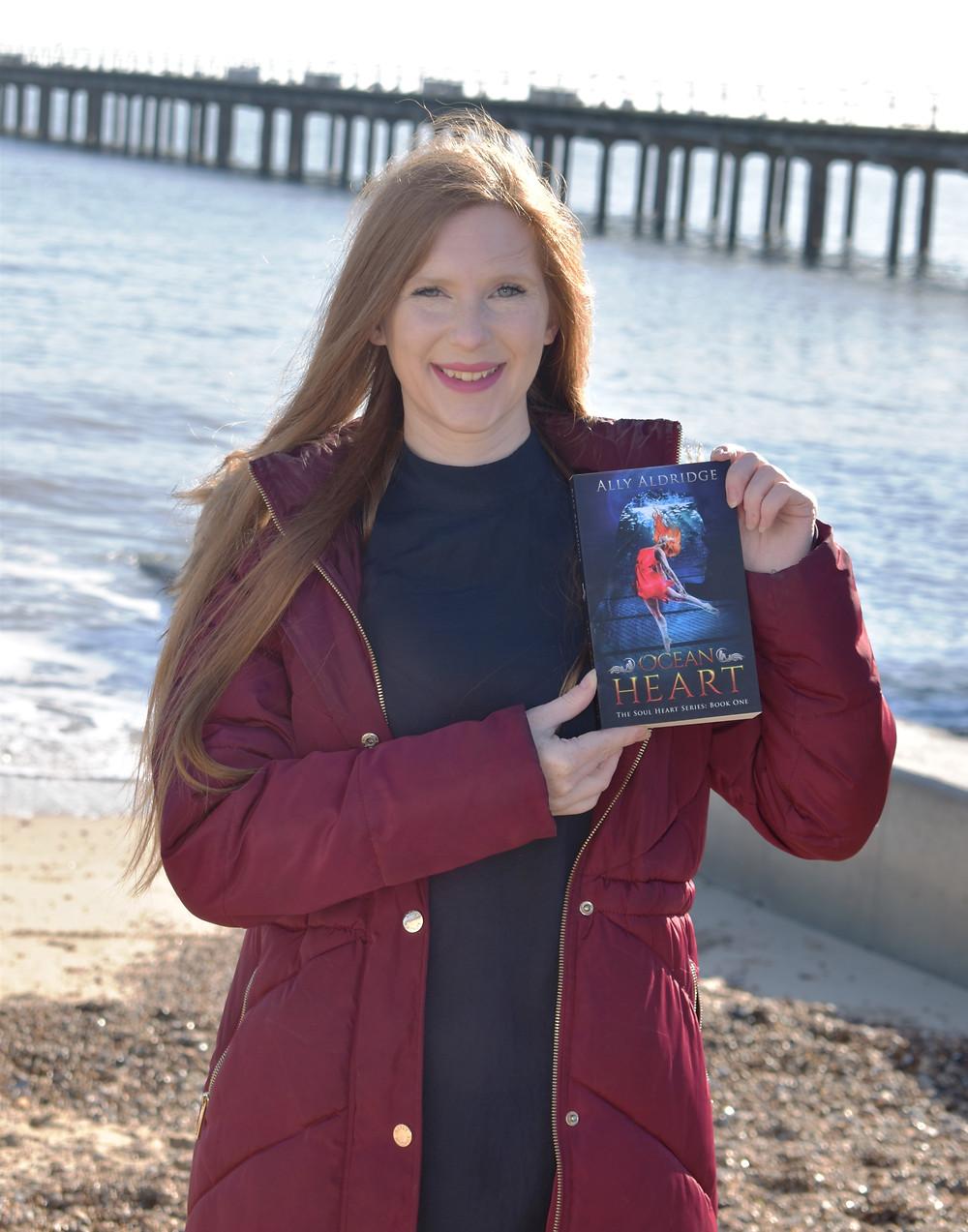 Ally Aldridge - author of Ocean Heart