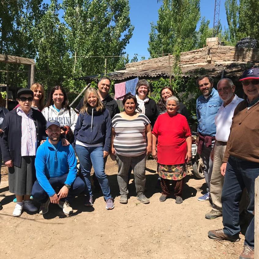 Visita familia Chacramonte