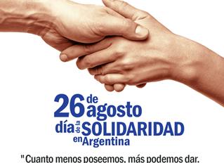 Celebración del día de la Solidaridad en Argentina