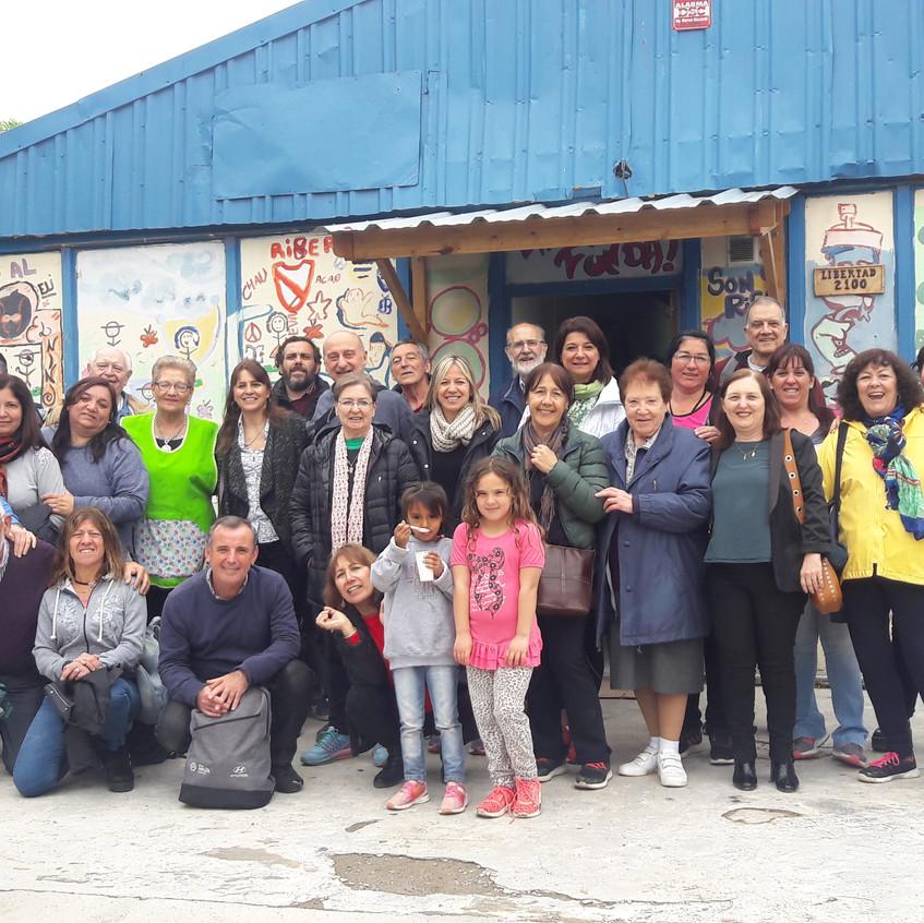 Visita Fundación Ninquihueé