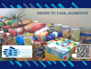 Desde tu casa, Alimentá - COVID 19 Campaña Solidaria