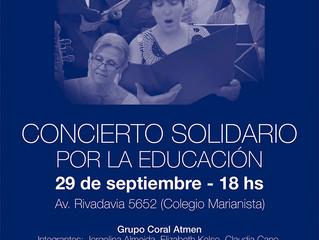 Concierto Solidario Por la Educación