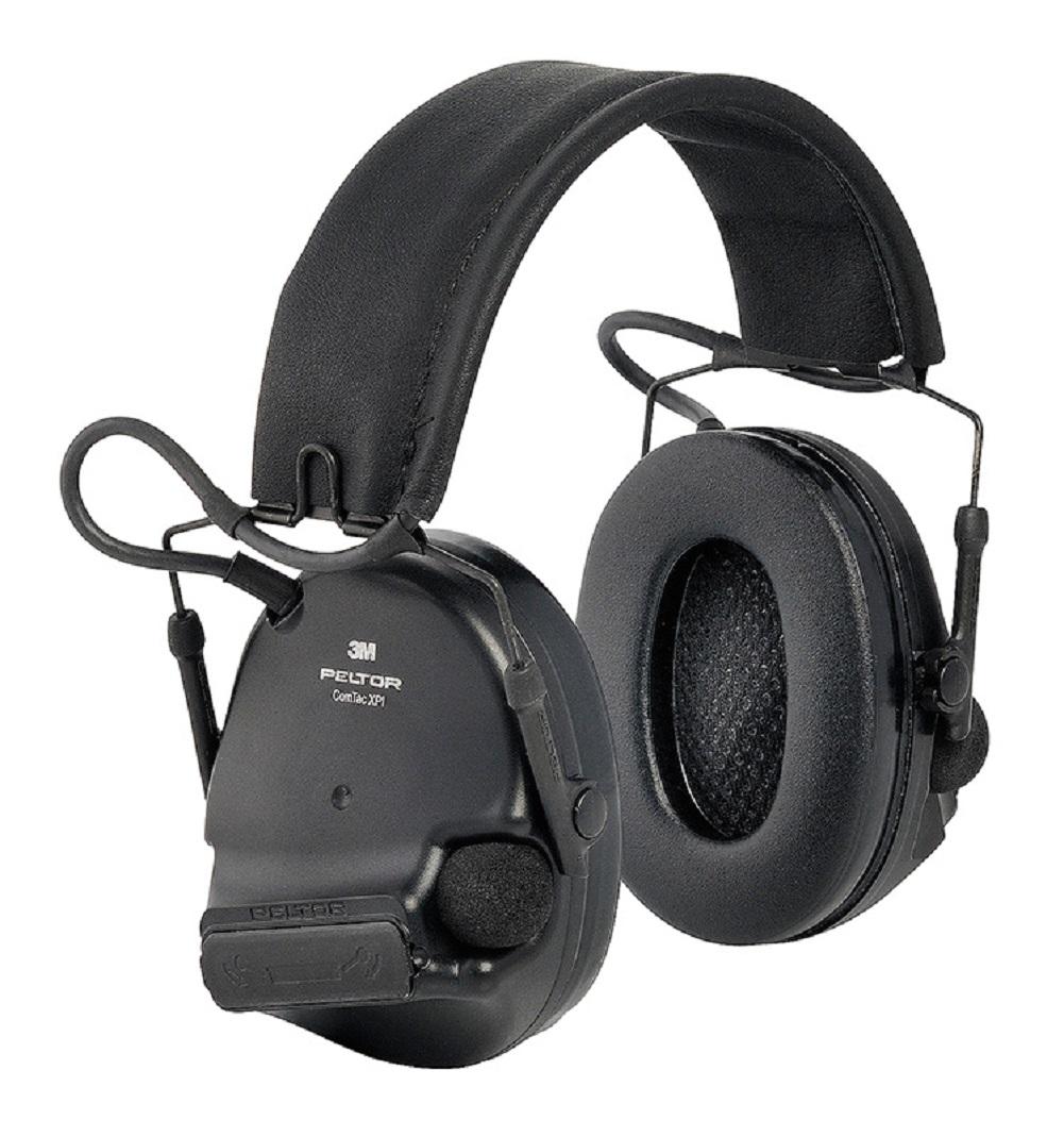 3M Peltor ComTac XPI Gehörschutz Schwarz