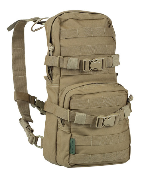 Warrior Assault Systems Rucksack Cargo Pack Coyote Front