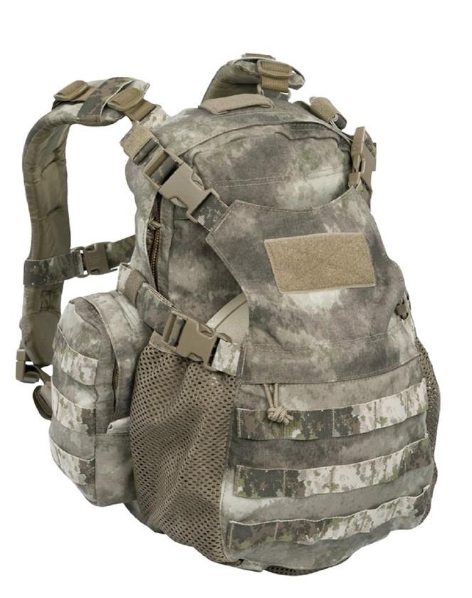 Warrior Assault Systems Rucksack Helmet Cargo Pack A-TACS AU Front