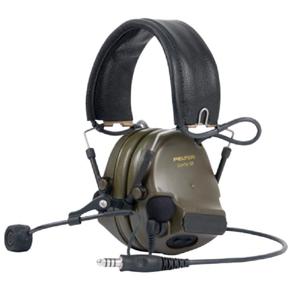 3M Peltor ComTac XPI mit Mikrofon Headset Oliv