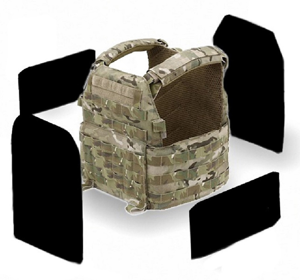 NEXUS Armour Weichballistik DCS NIJ3A Schwarz